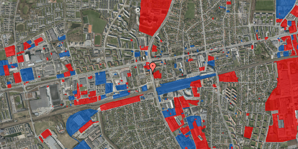Jordforureningskort på Christiansvej 17, 1. mf, 2600 Glostrup