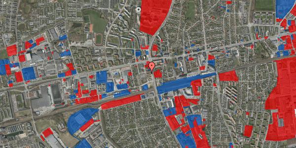 Jordforureningskort på Christiansvej 21, 1. th, 2600 Glostrup