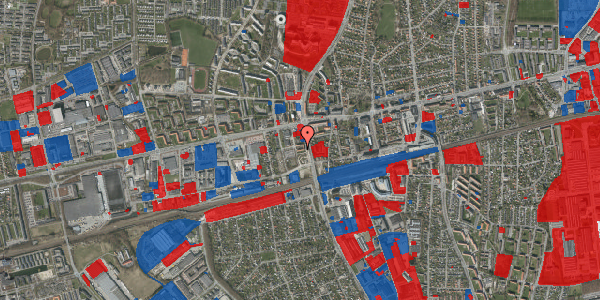 Jordforureningskort på Christiansvej 21, 2. th, 2600 Glostrup