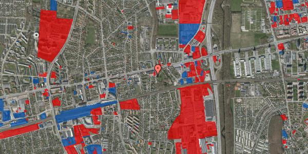 Jordforureningskort på Clarasvej 1, 2600 Glostrup