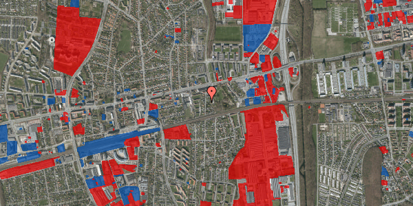 Jordforureningskort på Clarasvej 7, 2600 Glostrup