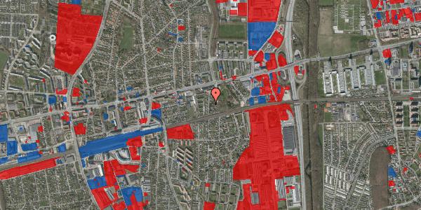 Jordforureningskort på Clarasvej 9, 2600 Glostrup