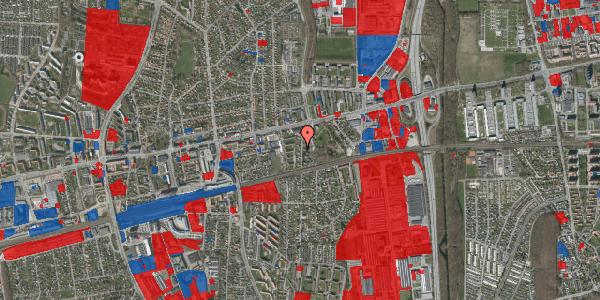 Jordforureningskort på Clarasvej 12, 2600 Glostrup