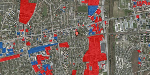 Jordforureningskort på Clarasvej 13, 2600 Glostrup
