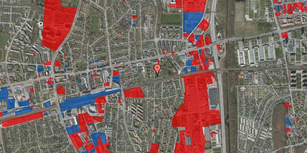 Jordforureningskort på Clarasvej 18, 2600 Glostrup
