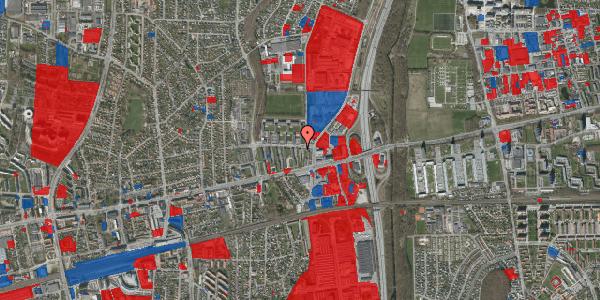 Jordforureningskort på Dalvangsvej 13, st. 1, 2600 Glostrup