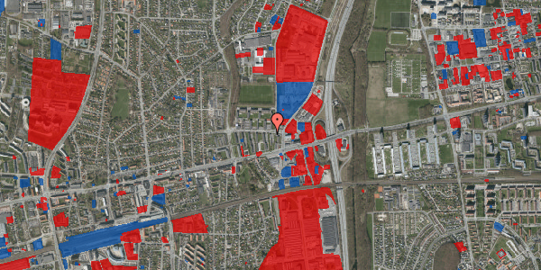 Jordforureningskort på Dalvangsvej 13, 1. 5, 2600 Glostrup