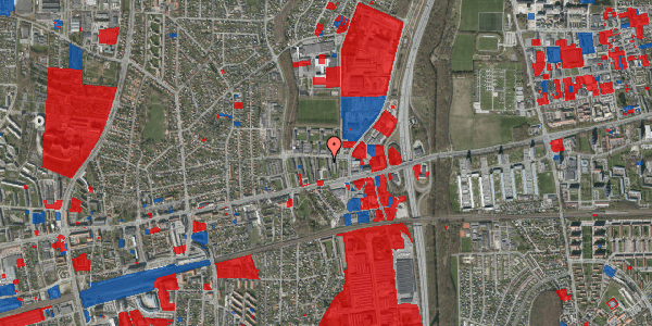 Jordforureningskort på Dalvangsvej 27, st. tv, 2600 Glostrup