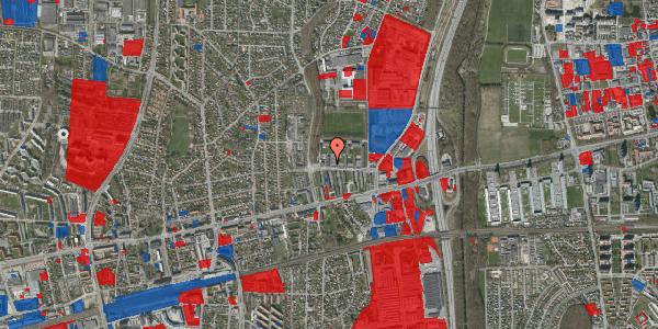 Jordforureningskort på Dalvangsvej 42, 1. 7, 2600 Glostrup