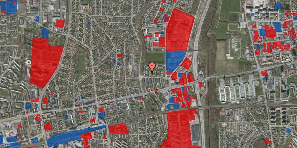 Jordforureningskort på Dalvangsvej 46, 1. 7, 2600 Glostrup