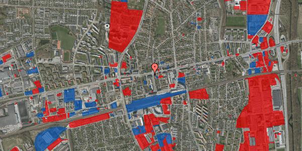 Jordforureningskort på Hovedvejen 107, 2600 Glostrup