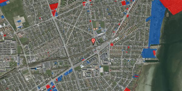 Jordforureningskort på Achilles Alle 11, 2650 Hvidovre