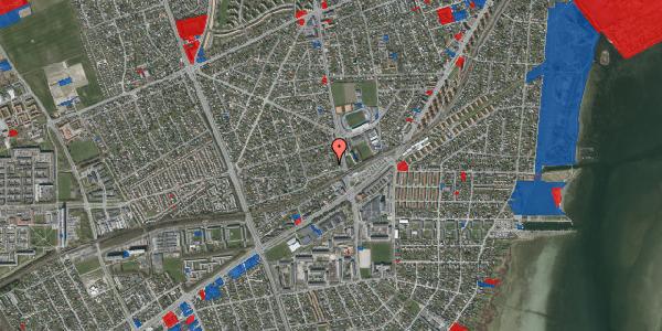 Jordforureningskort på Achilles Alle 12, 2650 Hvidovre