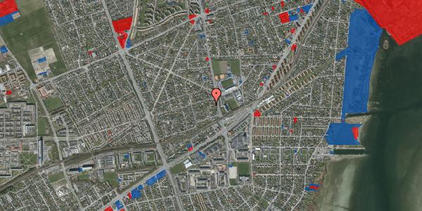 Jordforureningskort på Achilles Alle 16, 2650 Hvidovre