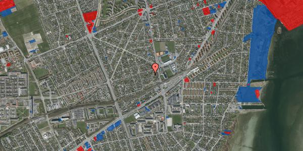 Jordforureningskort på Achilles Alle 17A, 2650 Hvidovre