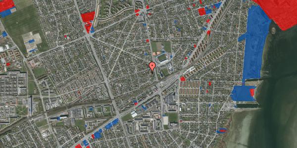 Jordforureningskort på Achilles Alle 17B, 2650 Hvidovre