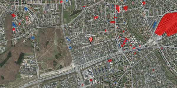 Jordforureningskort på Agermosen 3, 2650 Hvidovre