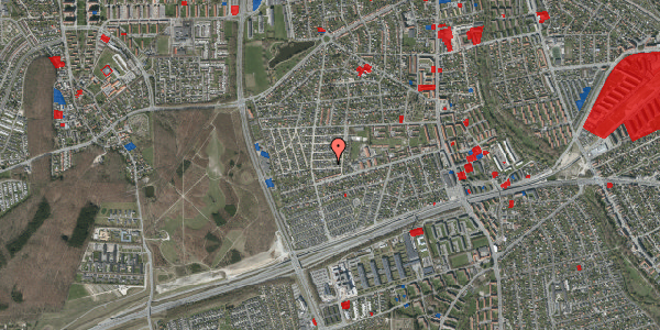 Jordforureningskort på Agermosen 10, 2650 Hvidovre