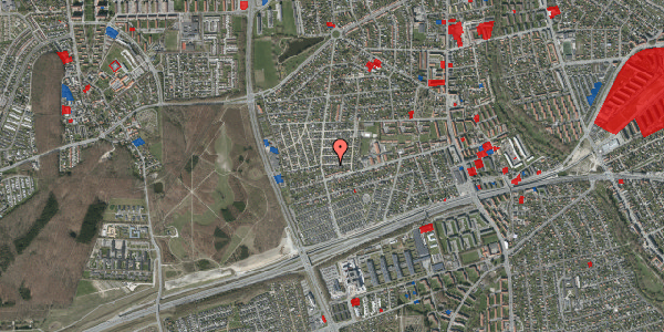 Jordforureningskort på Agermosen 15, 2650 Hvidovre