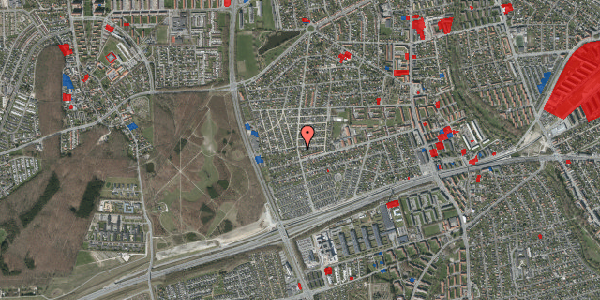 Jordforureningskort på Agermosen 21, 2650 Hvidovre