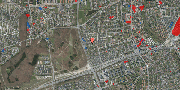Jordforureningskort på Agermosen 36, 2650 Hvidovre
