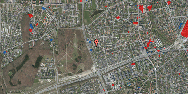 Jordforureningskort på Agermosen 38, 2650 Hvidovre