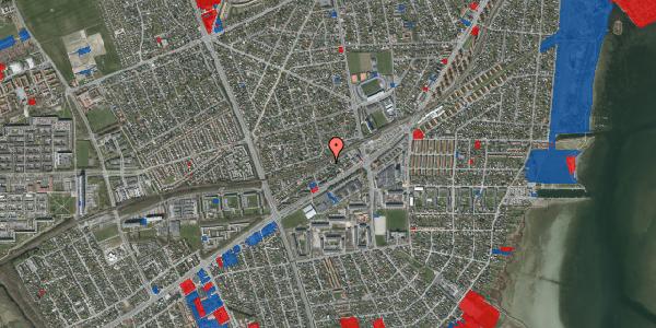 Jordforureningskort på Ajax Alle 16, 2650 Hvidovre