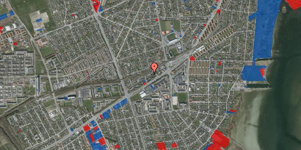 Jordforureningskort på Ajax Alle 17, 2650 Hvidovre