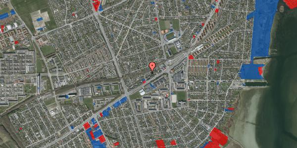 Jordforureningskort på Ajax Alle 19, 2650 Hvidovre