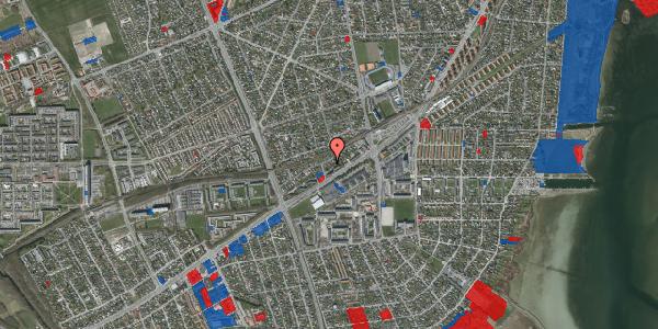 Jordforureningskort på Ajax Alle 21, 2650 Hvidovre