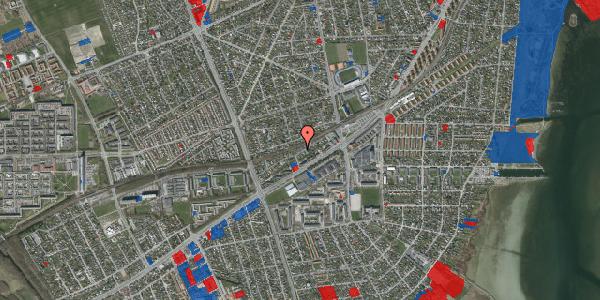 Jordforureningskort på Ajax Alle 22, 2650 Hvidovre