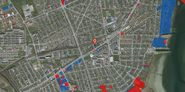 Jordforureningskort på Ajax Alle 25, 2650 Hvidovre