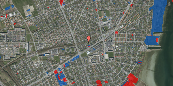 Jordforureningskort på Ajax Alle 30, 2650 Hvidovre