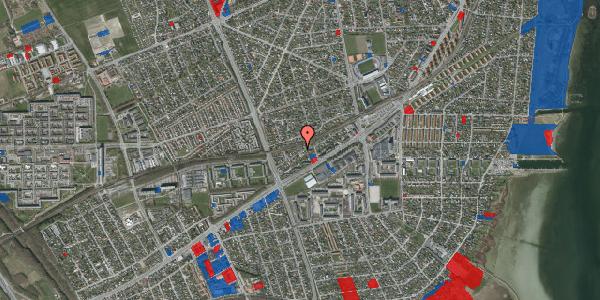 Jordforureningskort på Ajax Alle 34, 2650 Hvidovre