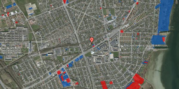 Jordforureningskort på Ajax Alle 35, 2650 Hvidovre