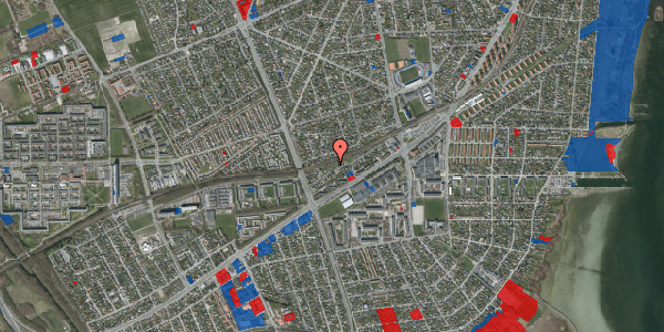 Jordforureningskort på Ajax Alle 36, 2650 Hvidovre