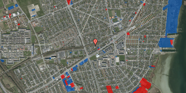 Jordforureningskort på Ajax Alle 38, 2650 Hvidovre