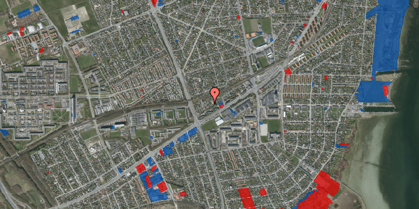 Jordforureningskort på Ajax Alle 39, 2650 Hvidovre