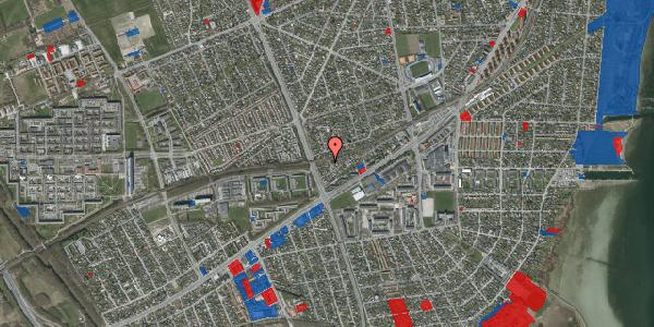 Jordforureningskort på Ajax Alle 48, 2650 Hvidovre