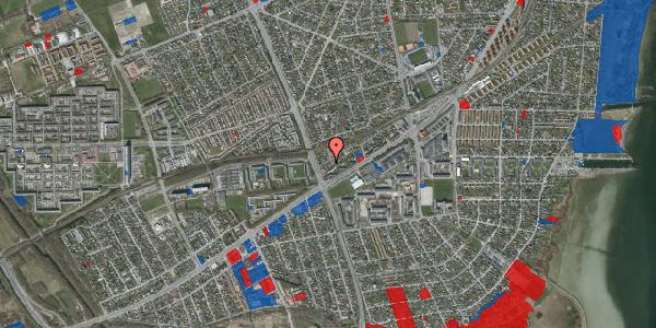 Jordforureningskort på Ajax Alle 51, 2650 Hvidovre