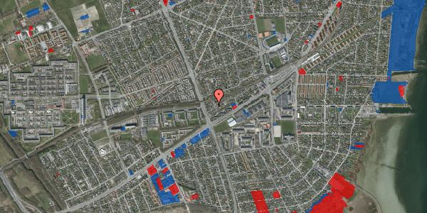 Jordforureningskort på Ajax Alle 52, 2650 Hvidovre