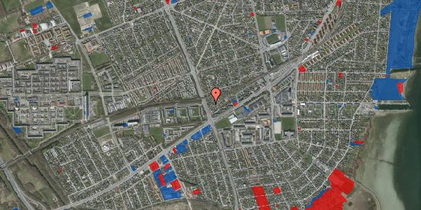Jordforureningskort på Ajax Alle 56, 2650 Hvidovre