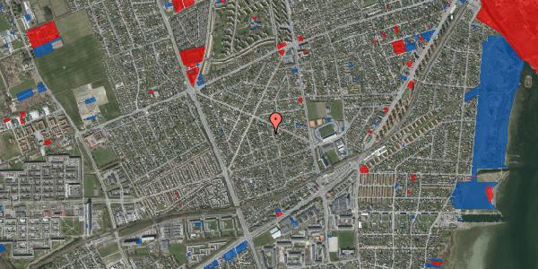 Jordforureningskort på Aktæons Alle 6, 2650 Hvidovre