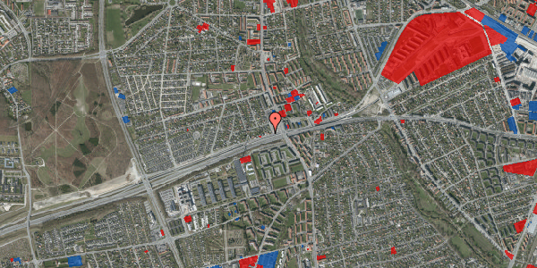 Jordforureningskort på Allingvej 8, 2650 Hvidovre