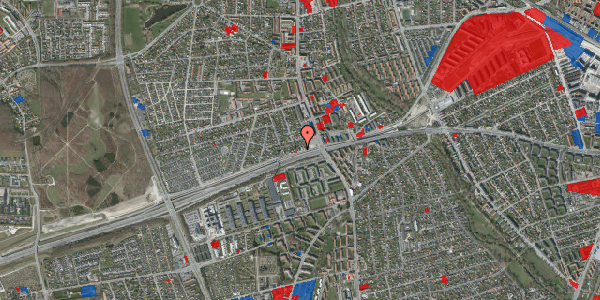 Jordforureningskort på Allingvej 12, 2650 Hvidovre