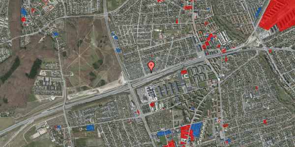 Jordforureningskort på Allingvej 76, 2650 Hvidovre