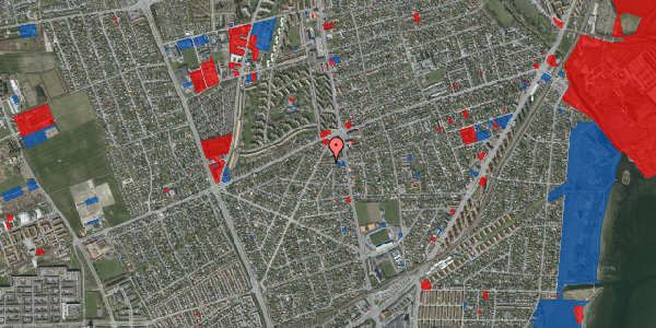 Jordforureningskort på Antvorskovvej 5, 2650 Hvidovre