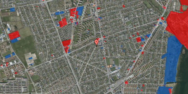 Jordforureningskort på Antvorskovvej 9, 2650 Hvidovre