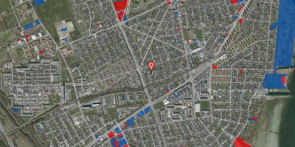 Jordforureningskort på Argos Alle 2, 2650 Hvidovre