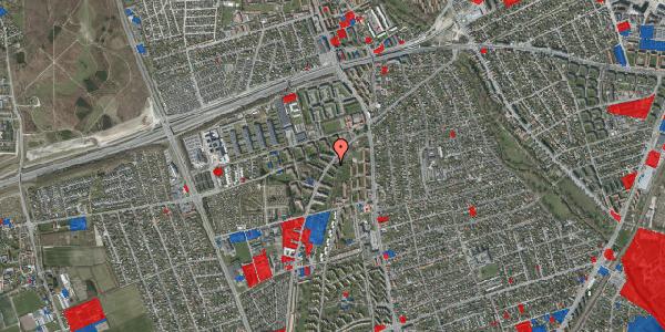 Jordforureningskort på Arnold Nielsens Boulevard 1, 2. th, 2650 Hvidovre